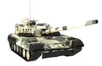 t-80ud t-80u bereza 3d model