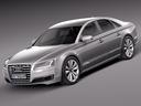 Audi A8 3D models