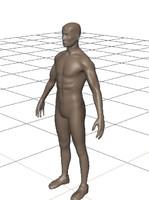 3d man human complex