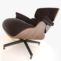 model of eames lounge chair