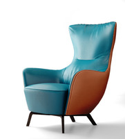 Poltrona Frau Italy Mamy Blue armchair 2013