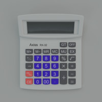 calculator fbx