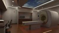 3d model mri room