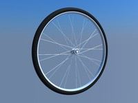 3d bicycle wheel