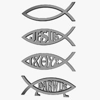 max jesus fish symbol