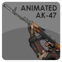 Animated LowPoly Hand and AK-47