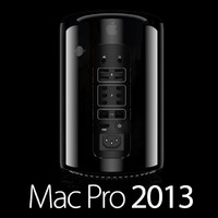 3d model apple mac pro 2013