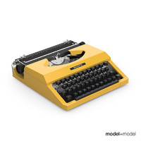 Silver Reed typewriter