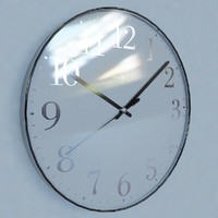 3d wall clock howard miller