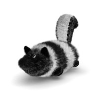 Skunk Dog Toy