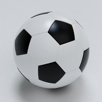 photo realistic soccer ball 3d max