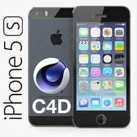 3d model apple iphone 5s