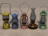 3dsmax oil lamps