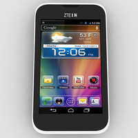 3d model zte grand x