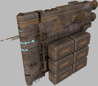 3ds max pack construction cargo