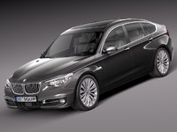 3d 3ds 2014 sedan luxury