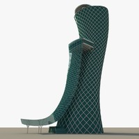 3d abu dhabi capital gate