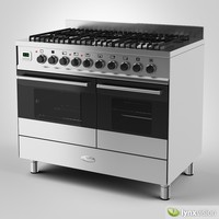 3ds max whirlpool gas range cooker