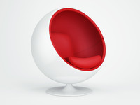 ball chair 3d max
