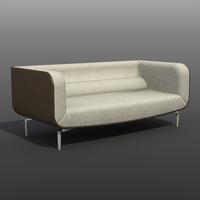 3d italian sofa model