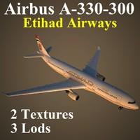 3d airbus etd model