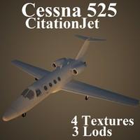 cessna 525 3d model