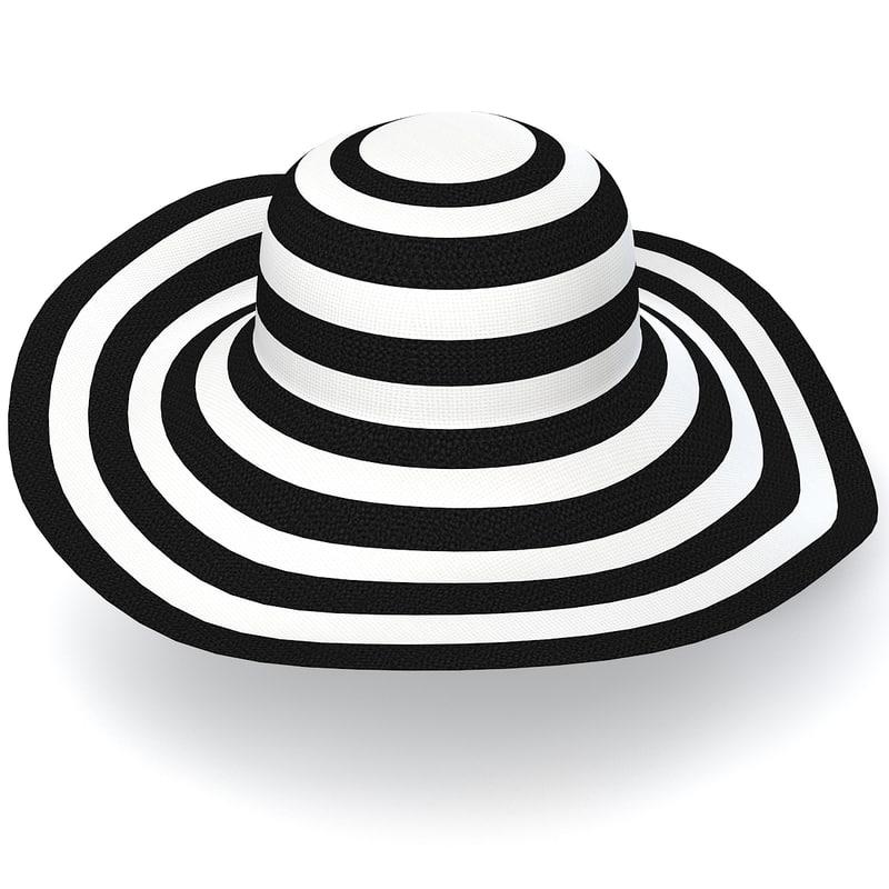 Lady's Hat  zebra women head covering cap  0002.jpg