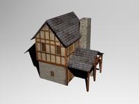 medievalhouse medieval 3d 3ds
