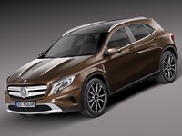 3ds max 2013 2014 mercedes mercedes-benz