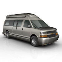 3d model airstream tourist