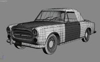 peugeot 403 3D models