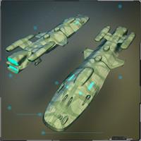blender military cargo ship