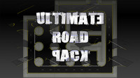 set pack road 3d model