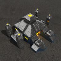 altar sci-fi building max