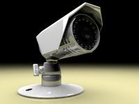 3d bullet camera