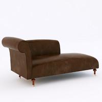 3d model casablanca sofa