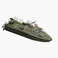 3d sweden patrol boat combat