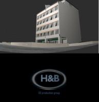hq immeuble 3d obj