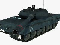 3d panther tank model