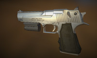Desert Eagle 50AE Game-Ready