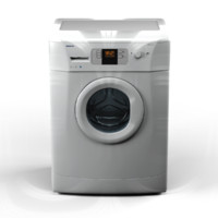3d model beko wmb61241 washer