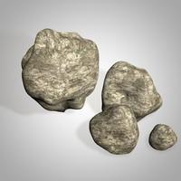 stones 3d 3ds