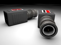 video balun 3d model