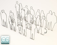 people silhouette - packet 02