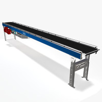 3d model belt slider bed ac