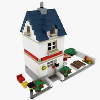 3ds house lego set