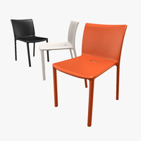 3d model air-chair jasper morrison chair