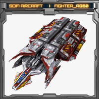 model scifi fighter ag60