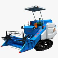 c4d combine harvester 4lz 160b
