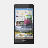 huawei ascend p6 3d model